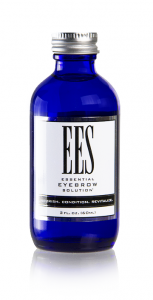 2oz bottle of ees essential eyebrow solution