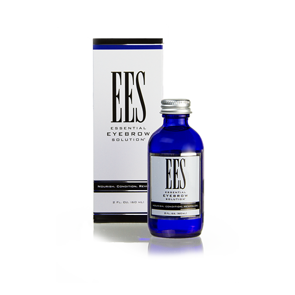 2 oz ees essential eyebrow solution bottle