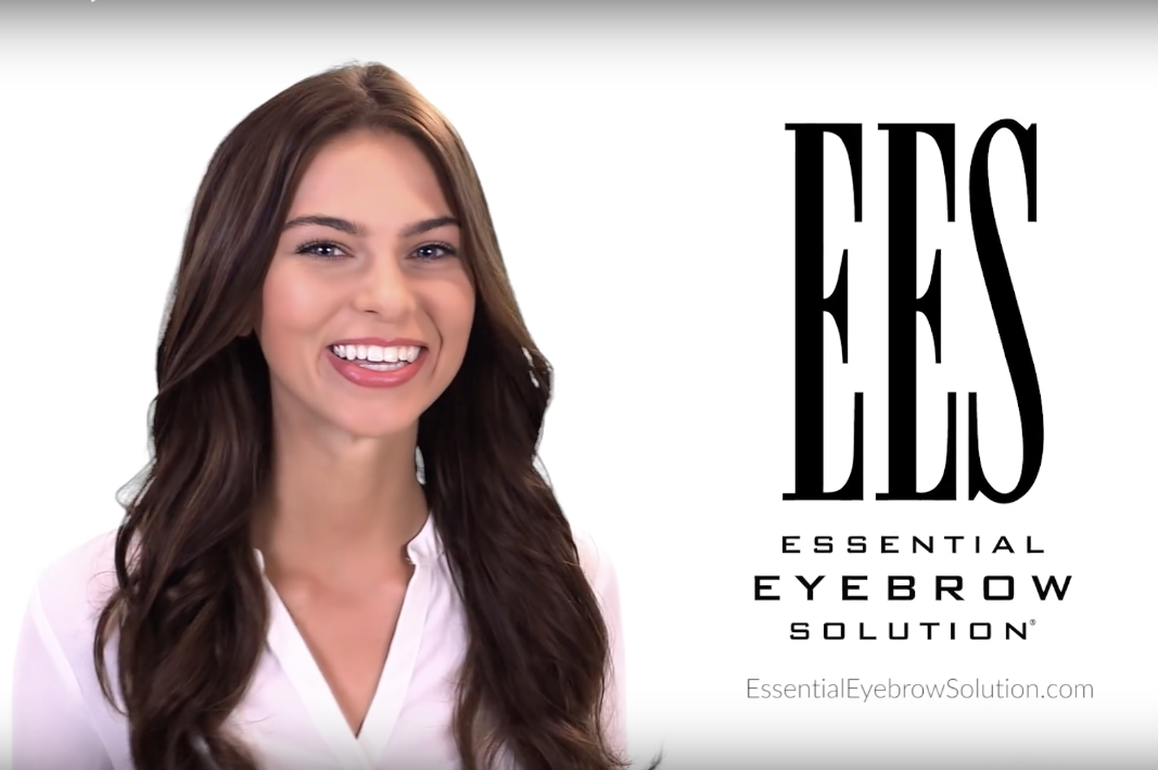 ees essential eyebrow solution video still