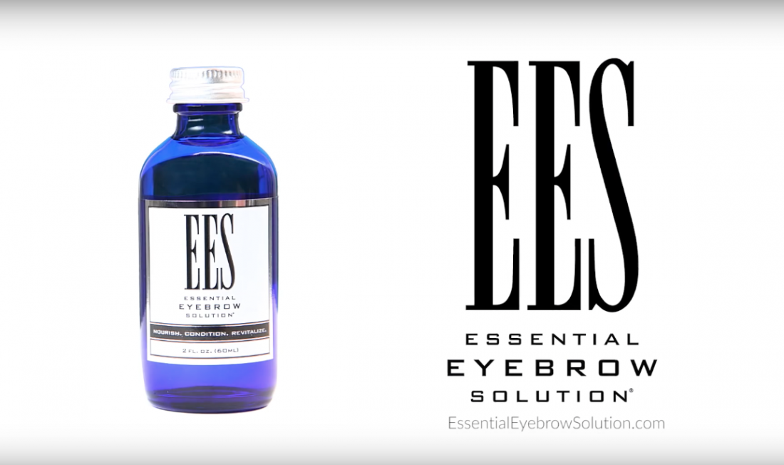 ees essential eyebrow solution video screenshot
