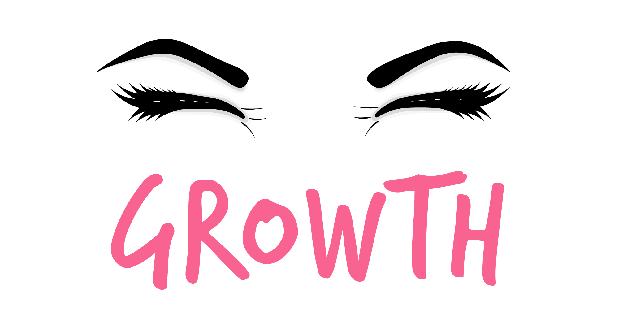 growth eyebrow icon
