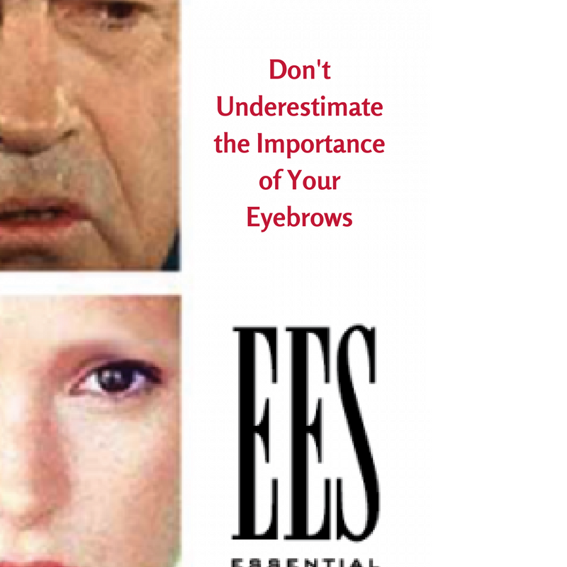 importance of eyebrows - ees blog