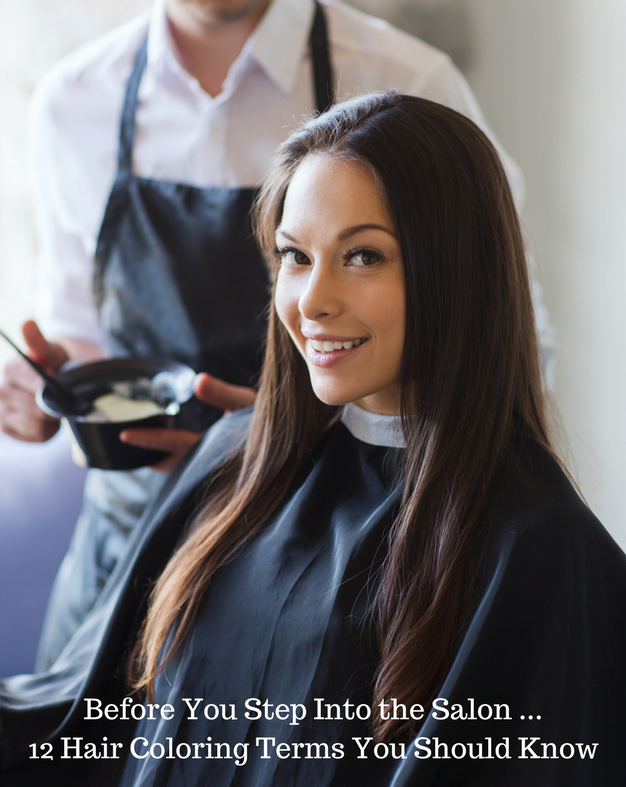 hair coloring terms