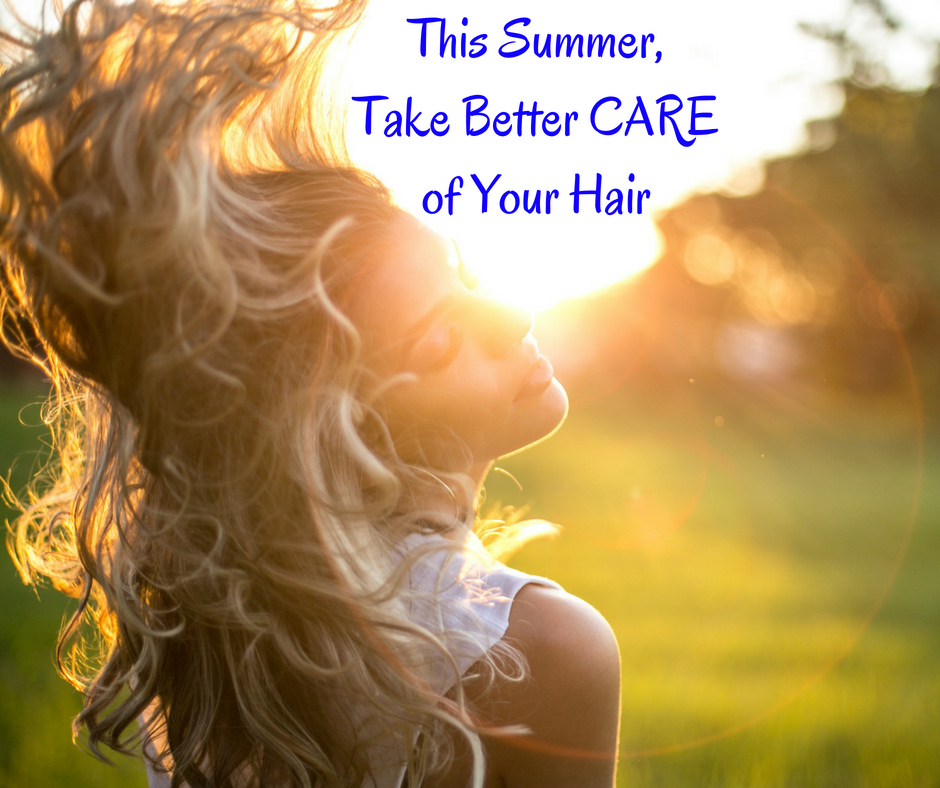 summer hair blog post